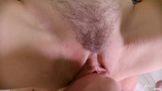 Closeup POV Licking Pussy and Clit.Real Female Squirt Orgasm